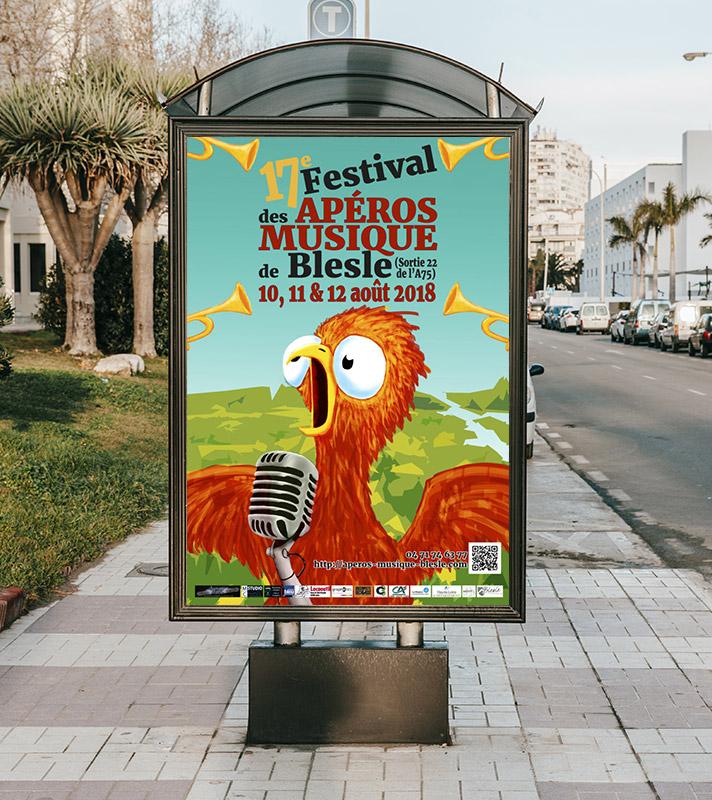 Affiche festival Blesle