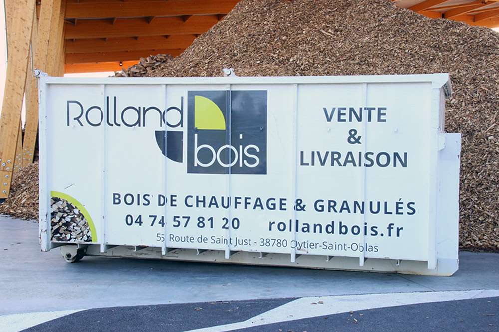 marquage benne Rollandbois