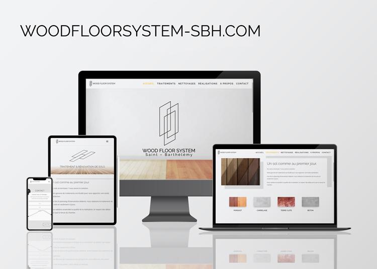 Site internet WoodFloorSystem